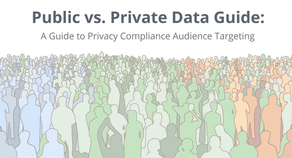 We have made a Data Guide on Public vs. Private audience data.