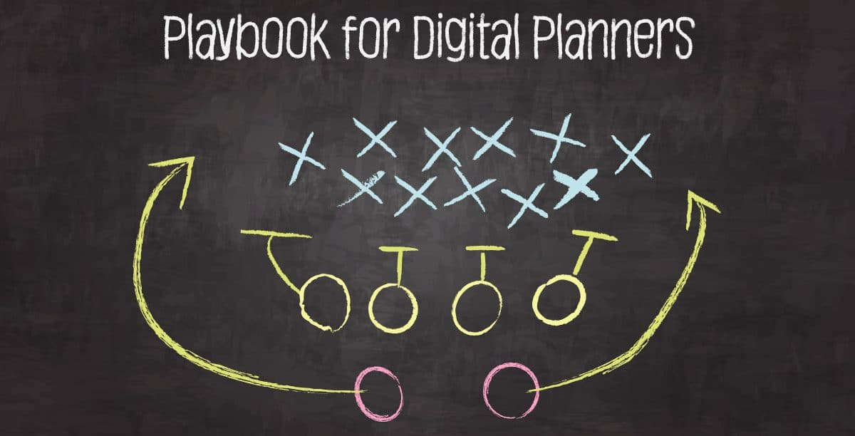 The Digital Planners Playbook