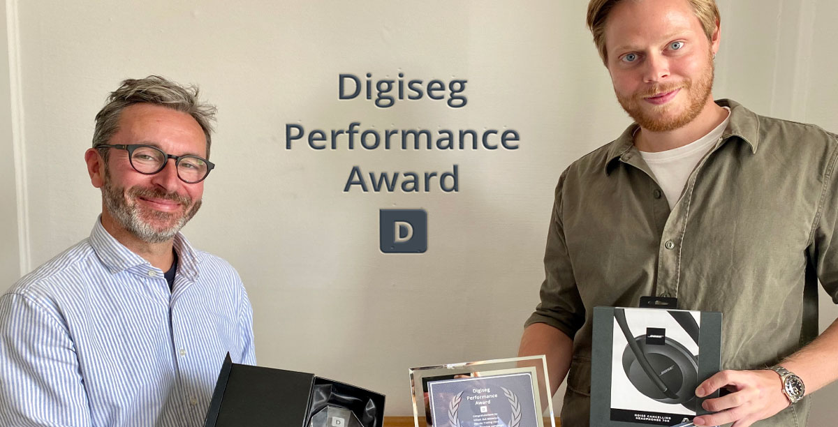 Digiseg Performance Award - June