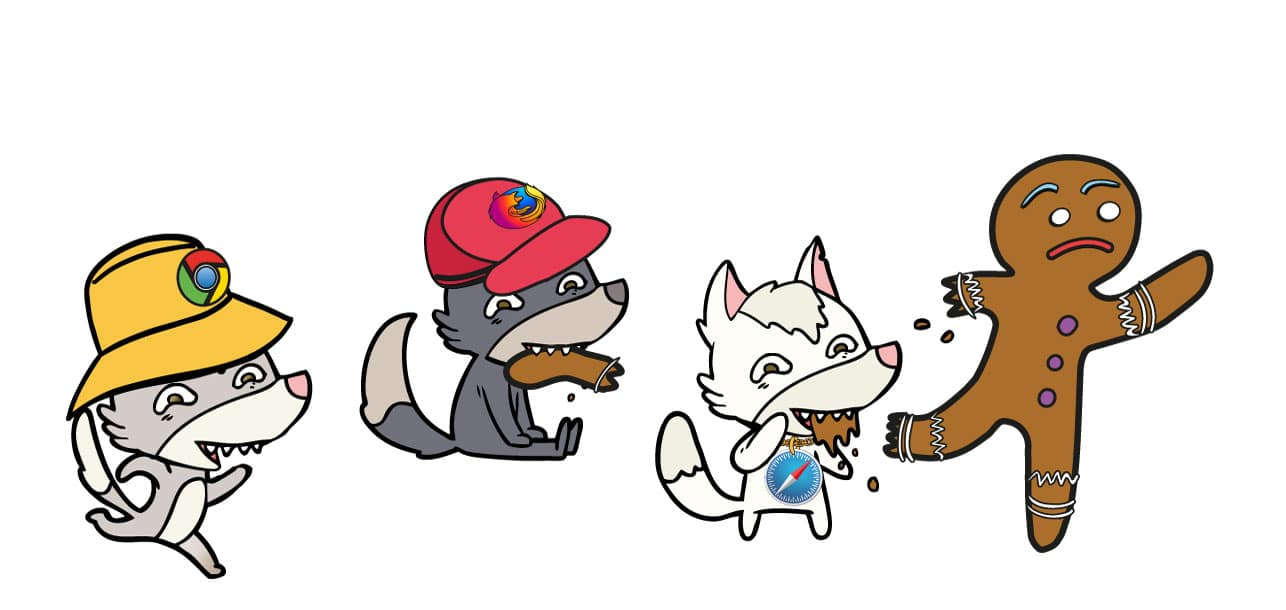 Cookies being eaten by chrome, firefox & apple